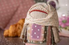 Пошаговая инструкция по изготовлению куклы оберега крупеничка